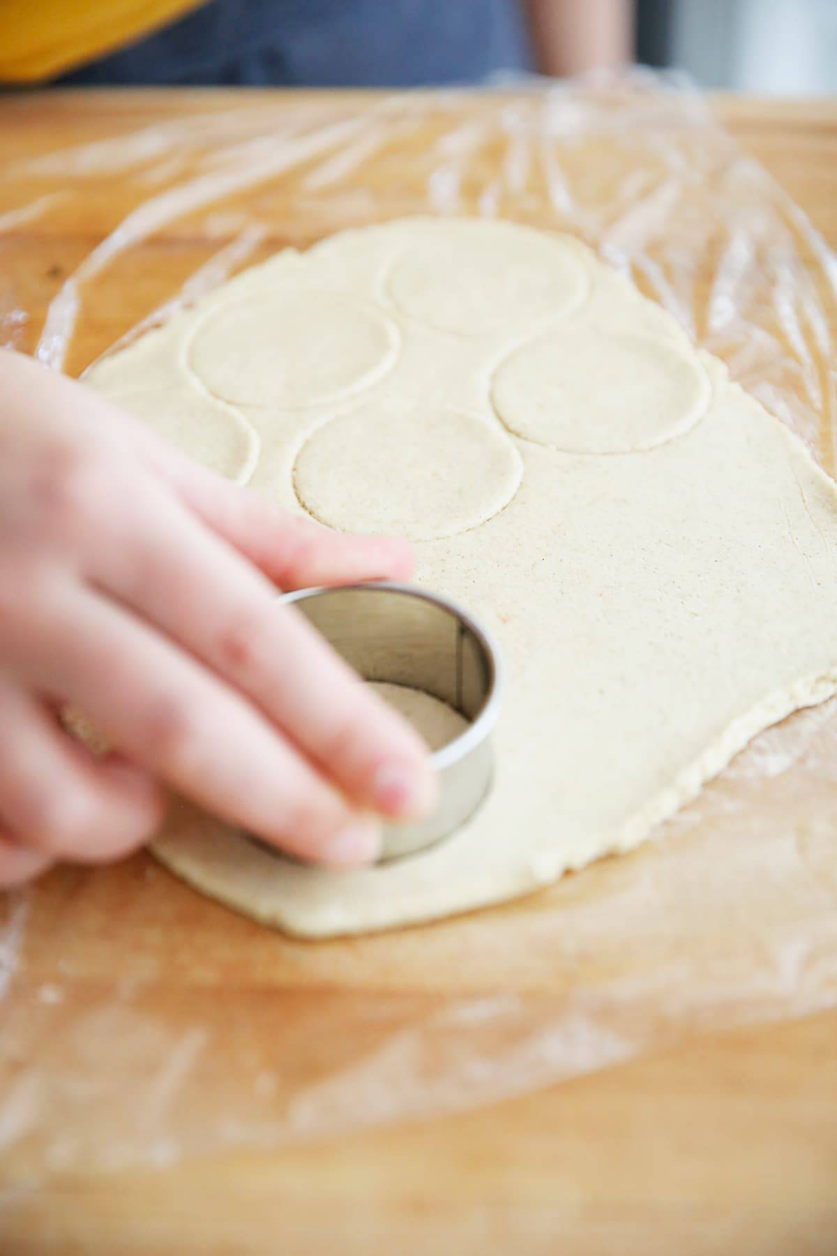Gluten free pigs in a blanket dough