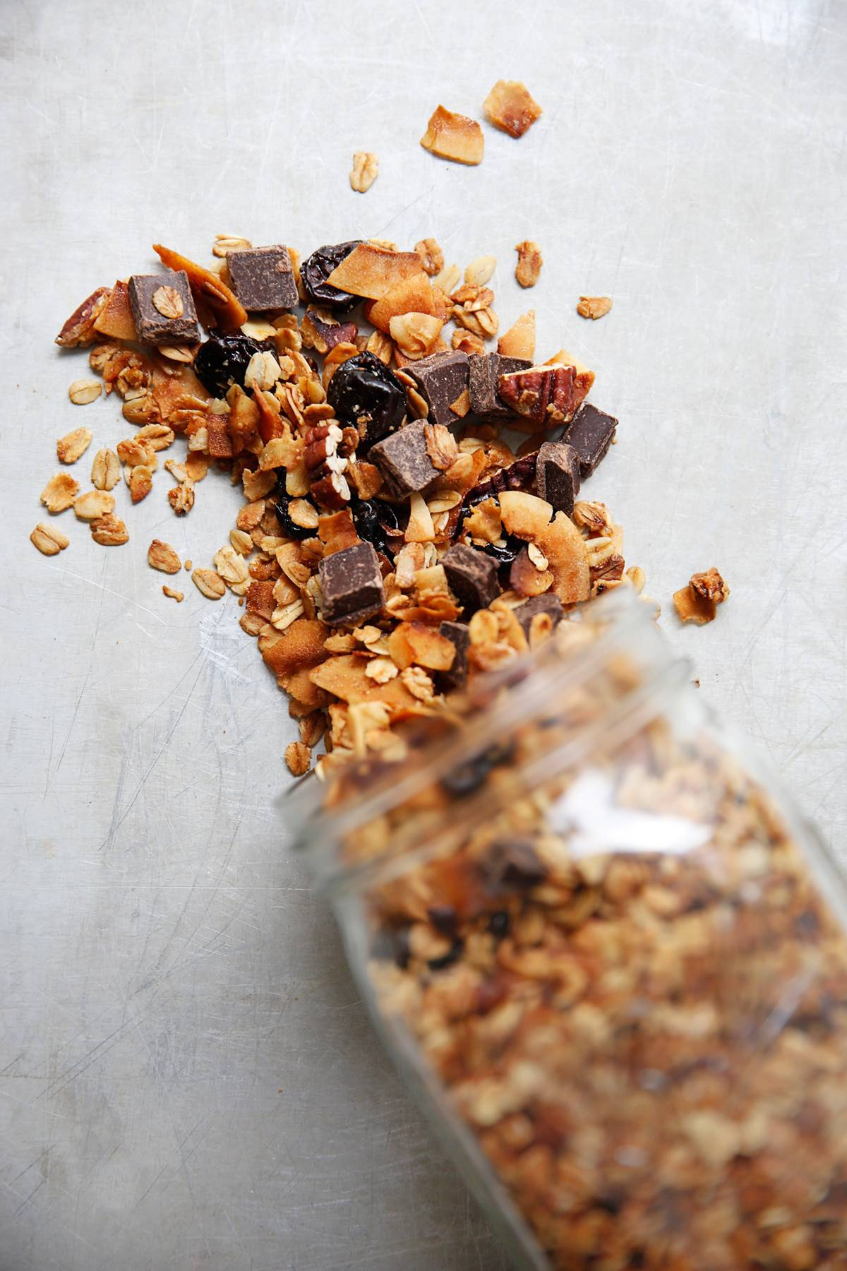 Easy Chocolate Coconut Granola