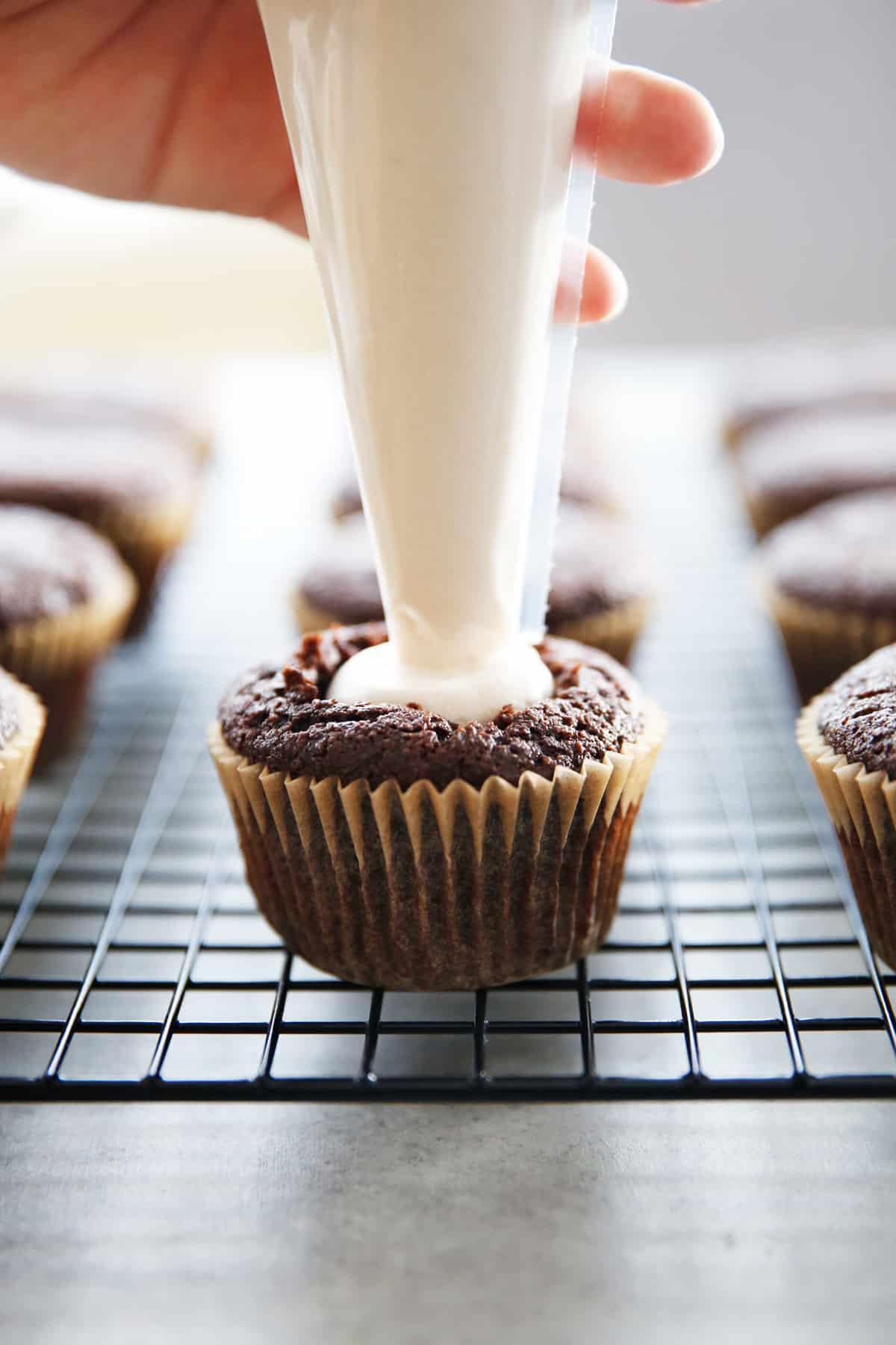 Homemade hostess cupcake recipe