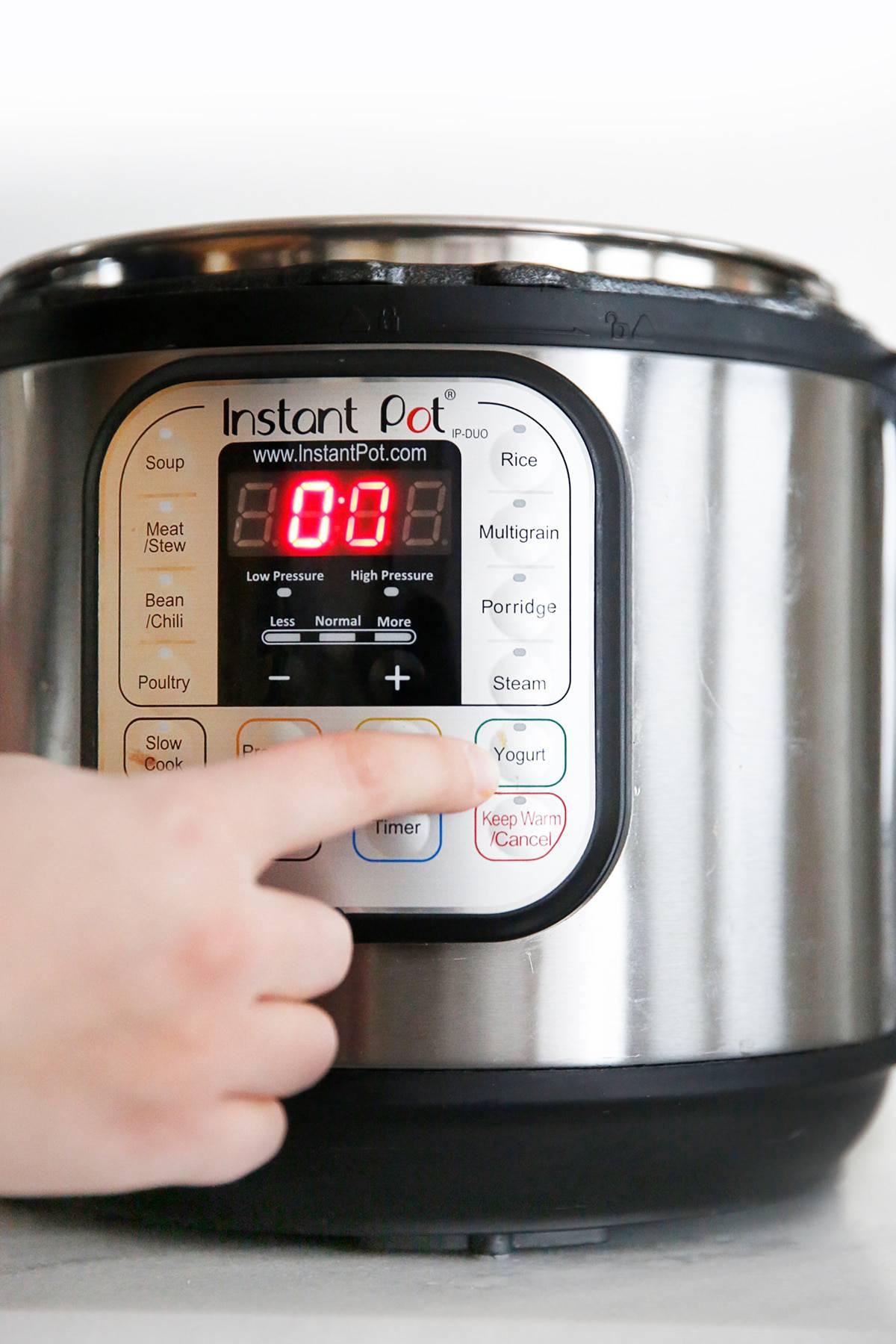 how to make coconut milk yogurt in instant pot