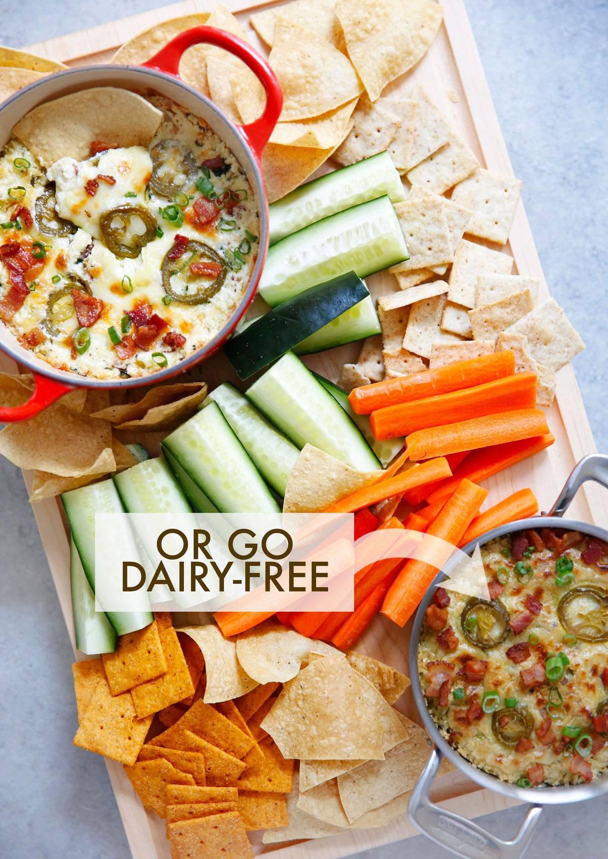 dairy free jalapeño popper dip