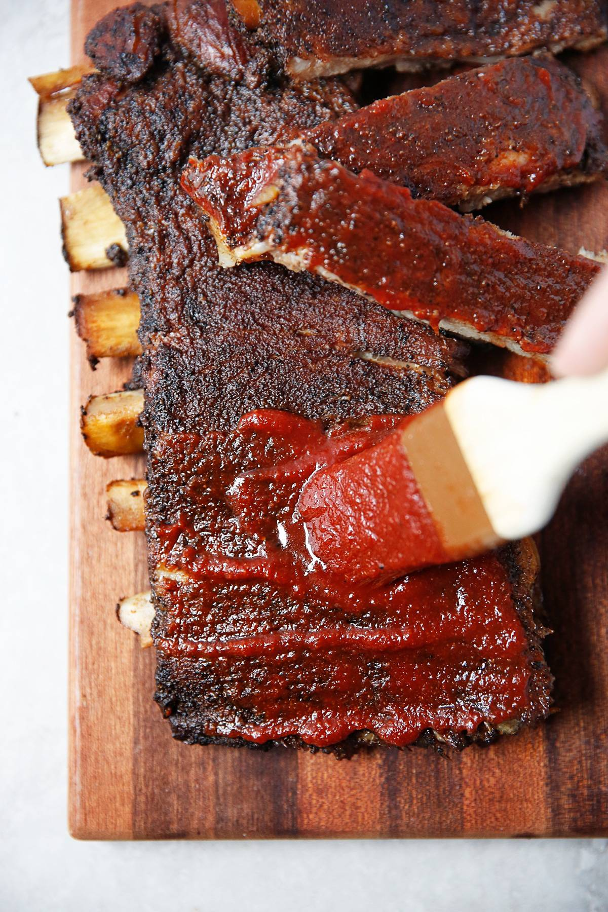 Coffee BBQ ribs