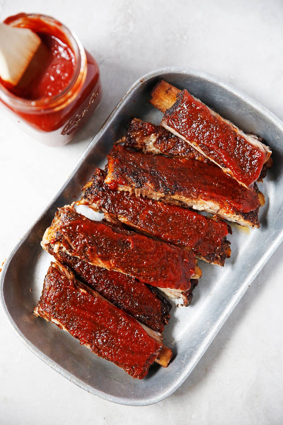 Oven Baked Coffee Barbecue Pork Ribs (Keto & Paleo)