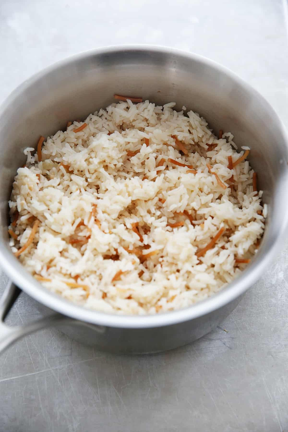 How much salt do you put in 1 cup of rice