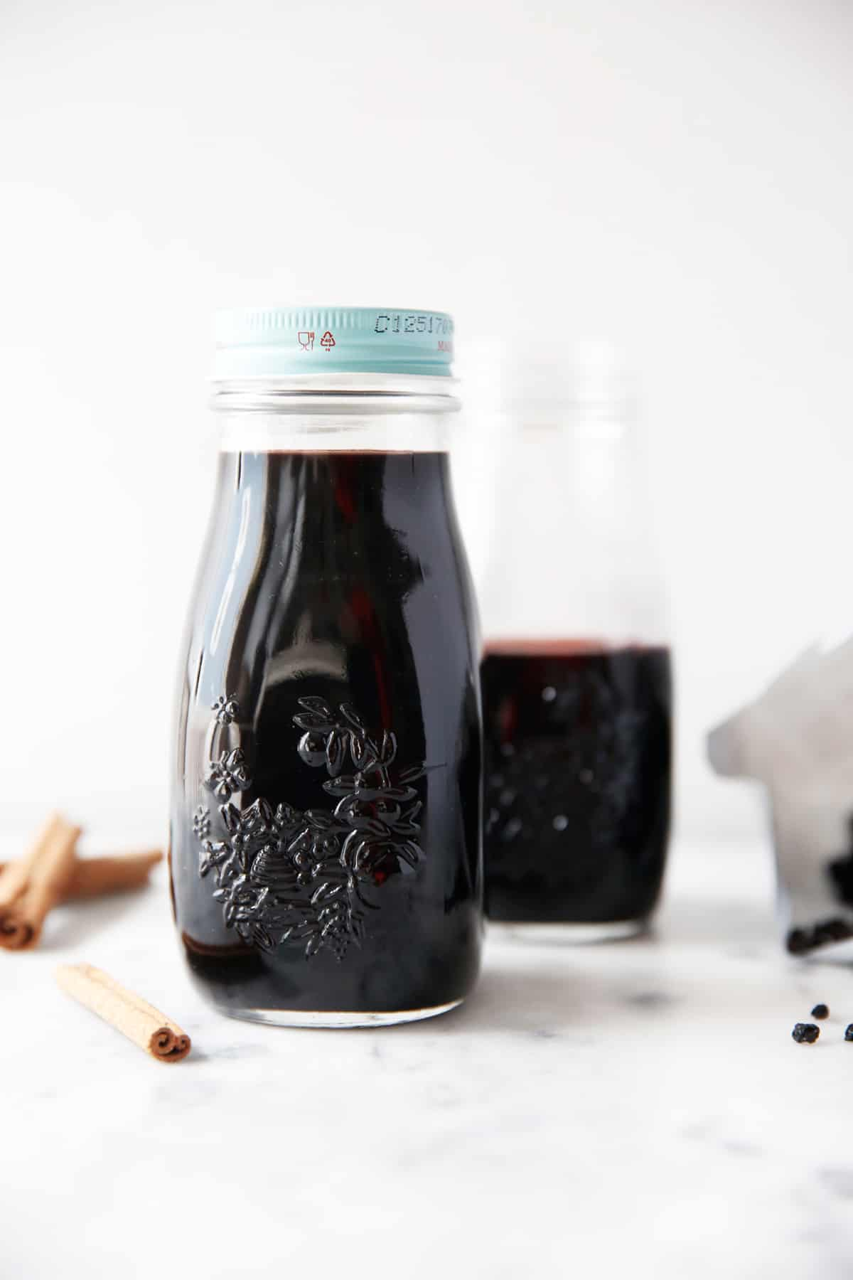 Elderberry Syrup for Colds