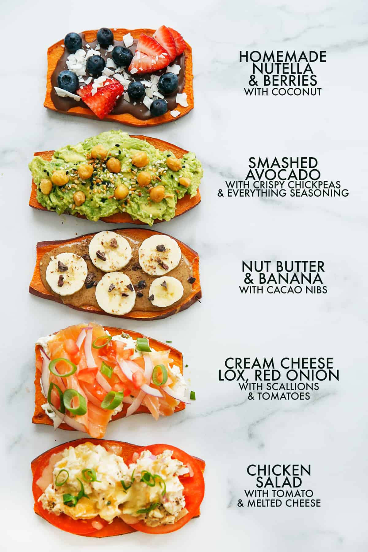 Weight watchers sweet potato toast