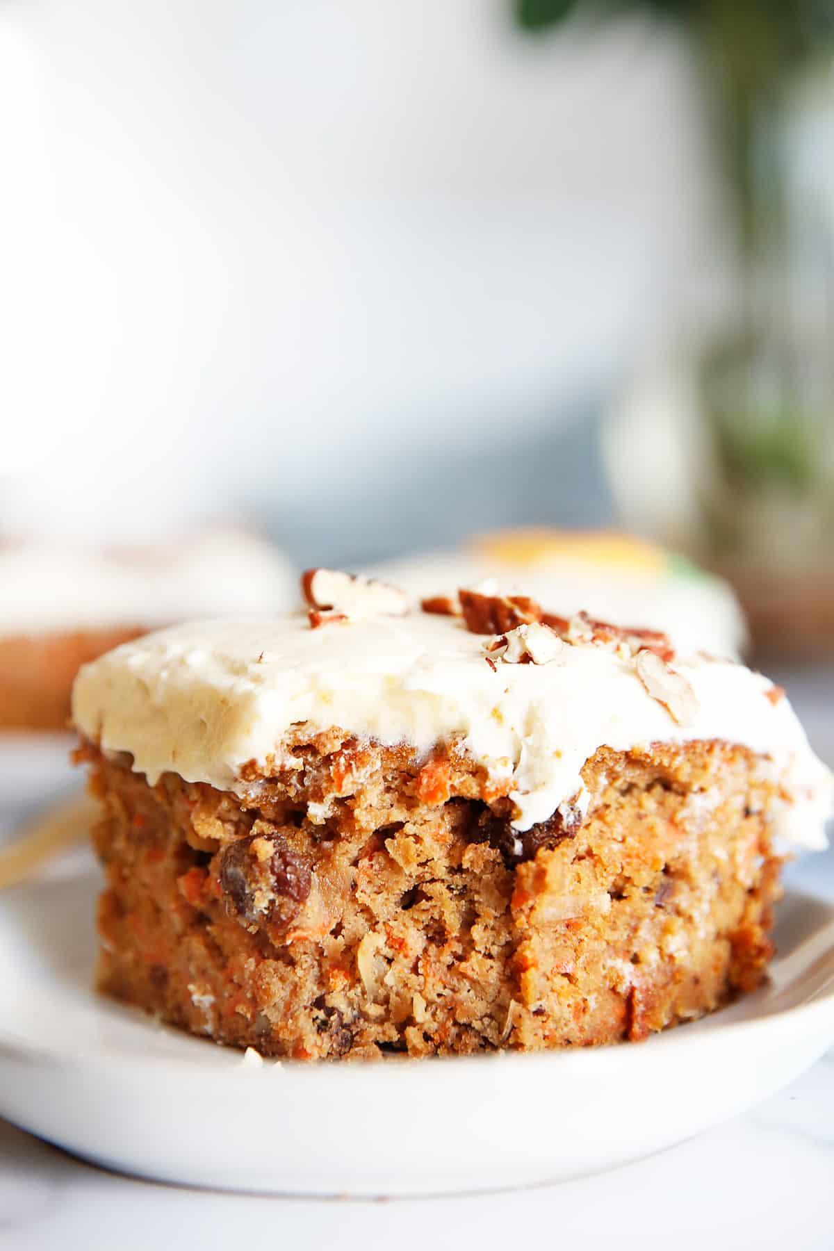 Easy Gluten Free Carrot Cake