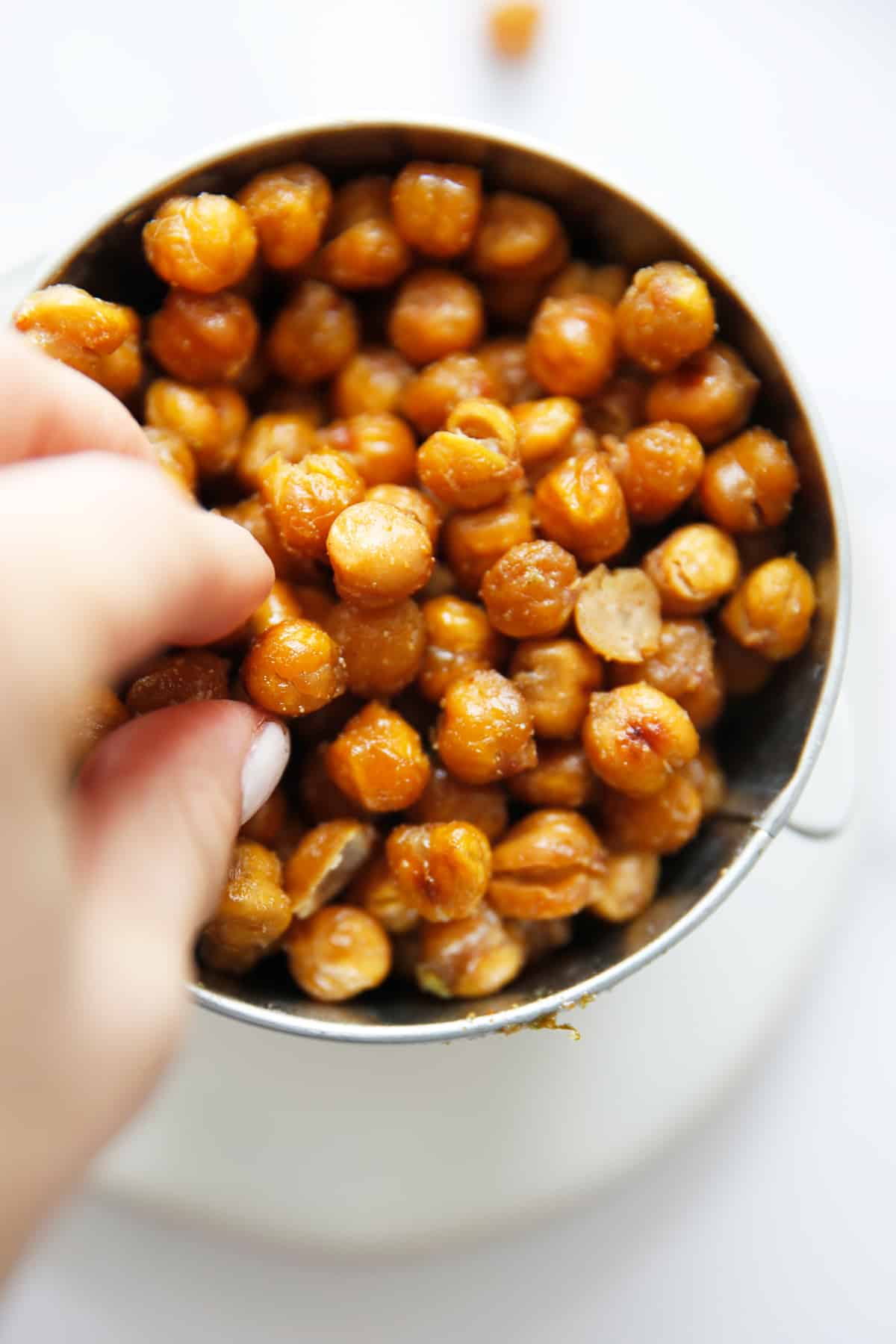 How to make chickpeas crunchy