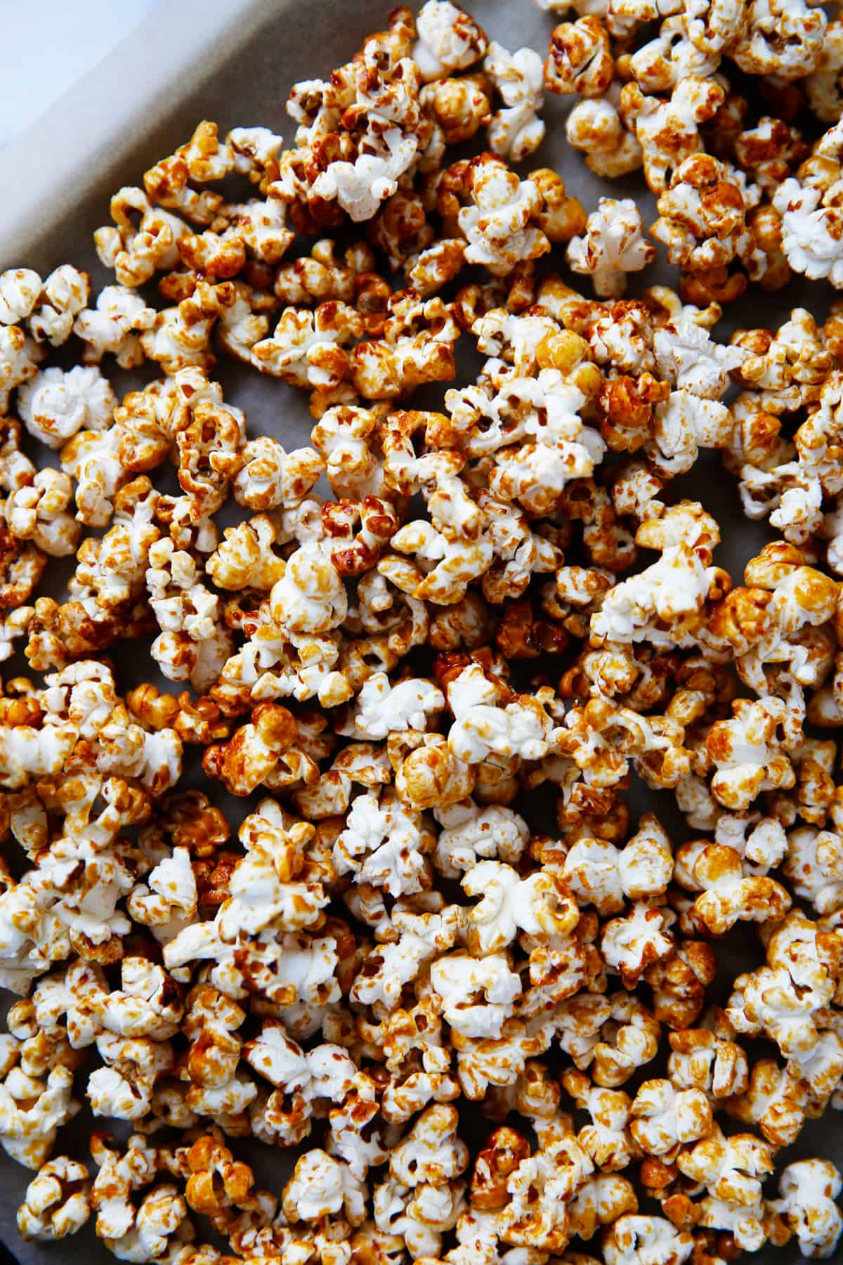 Maple syrup popcorn