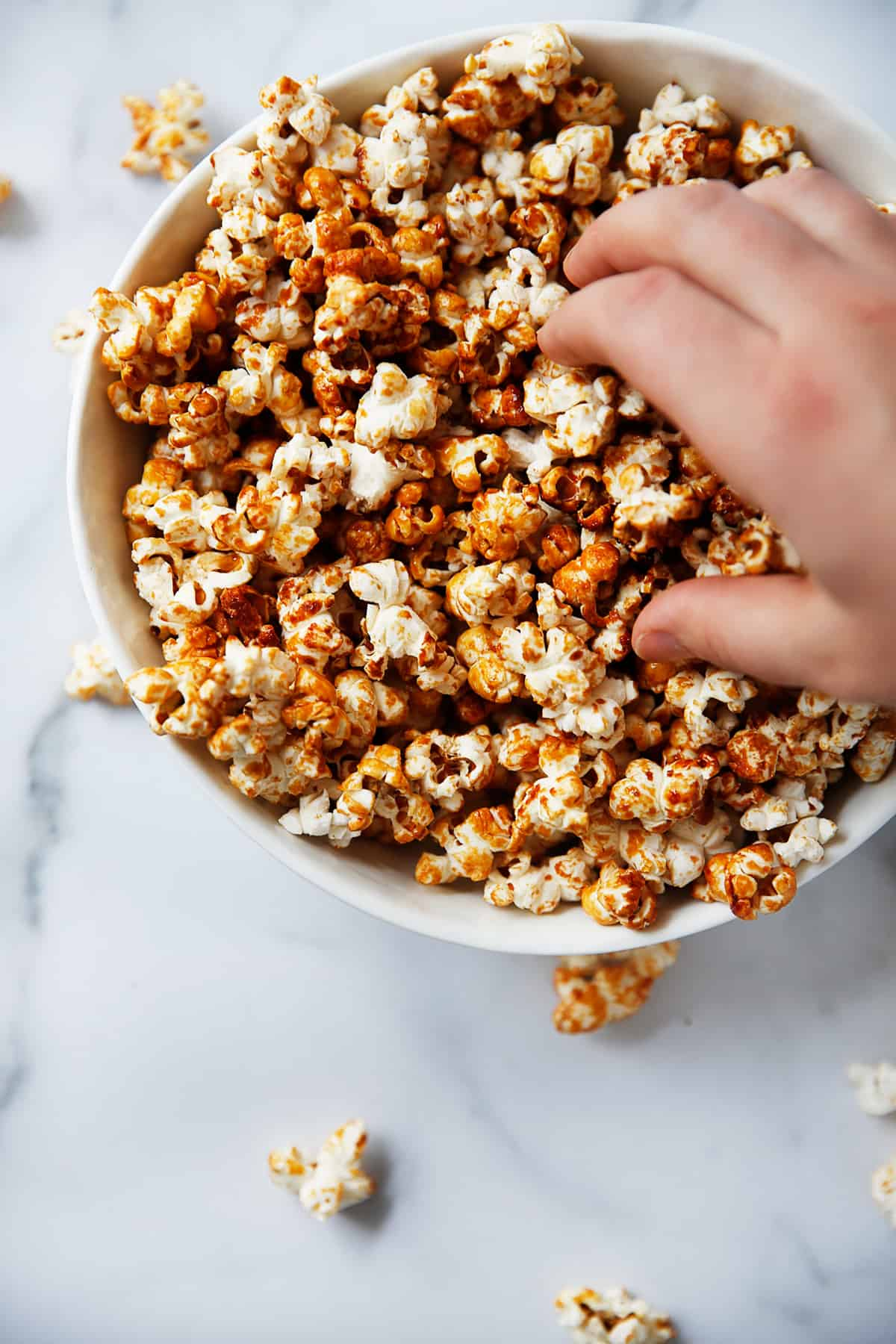 How to make kettle corn with maple syrup