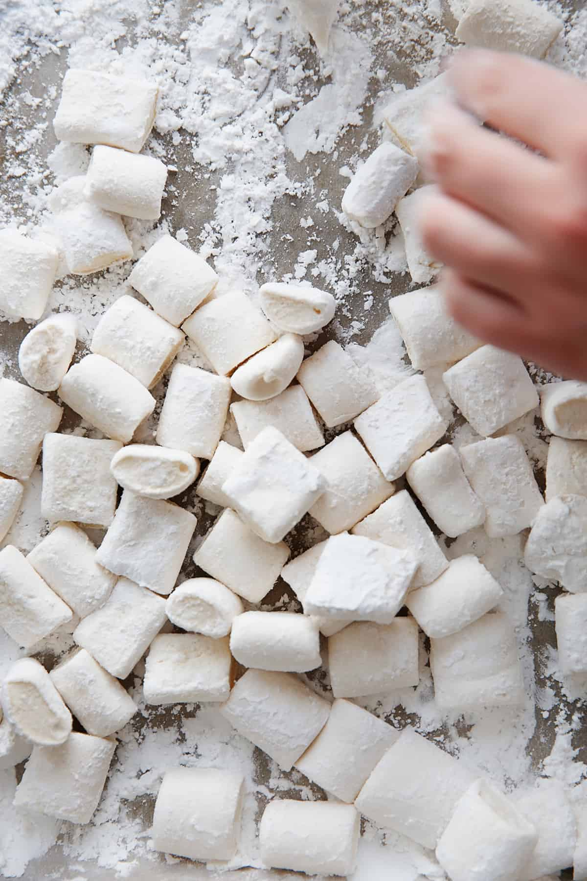 Marshmallows made with Gluten free marshmallow recipe