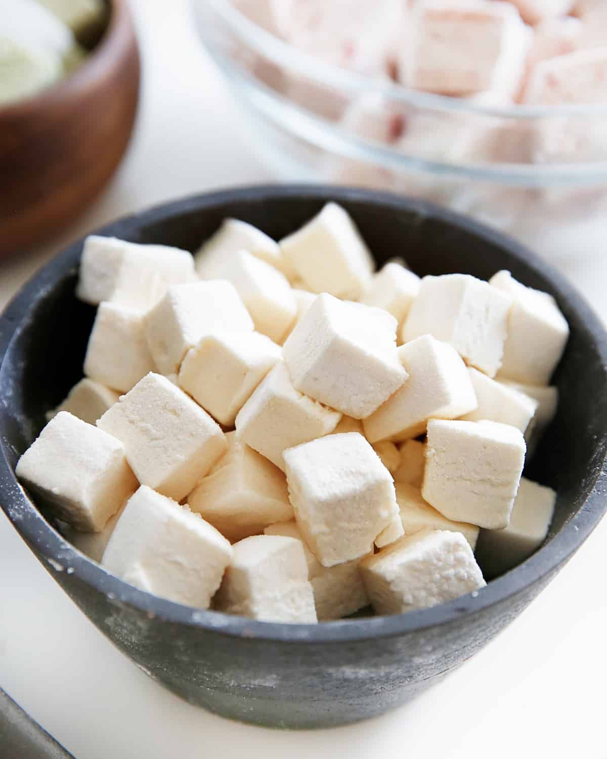 Cubes of Paleo Marshmallows