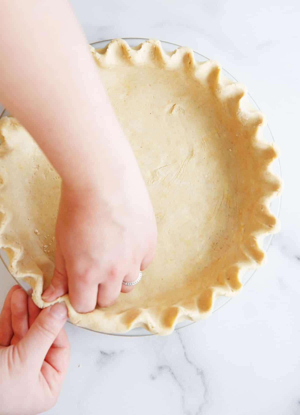 Gf pie crust in pie pan