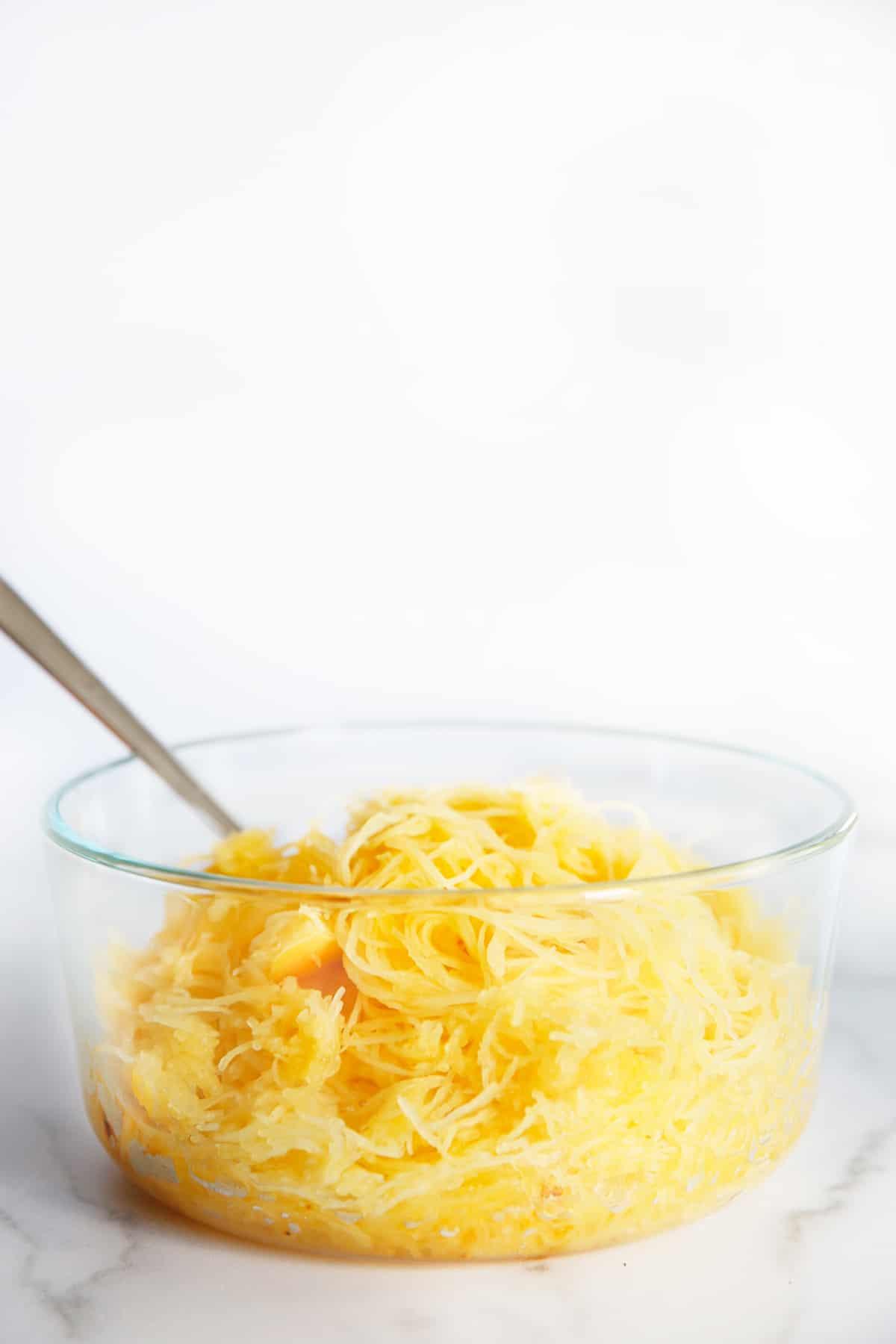 Spaghetti squash meal prep