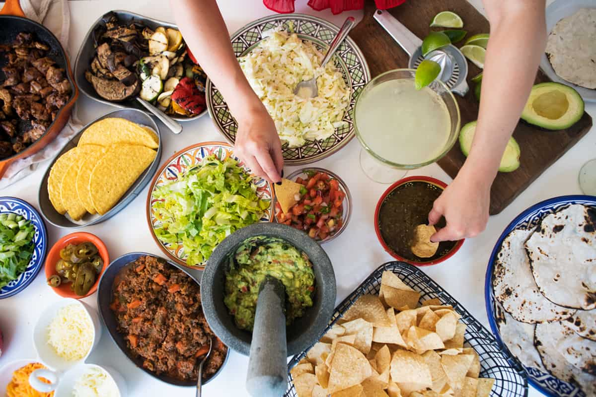 ultimate party bar taco night