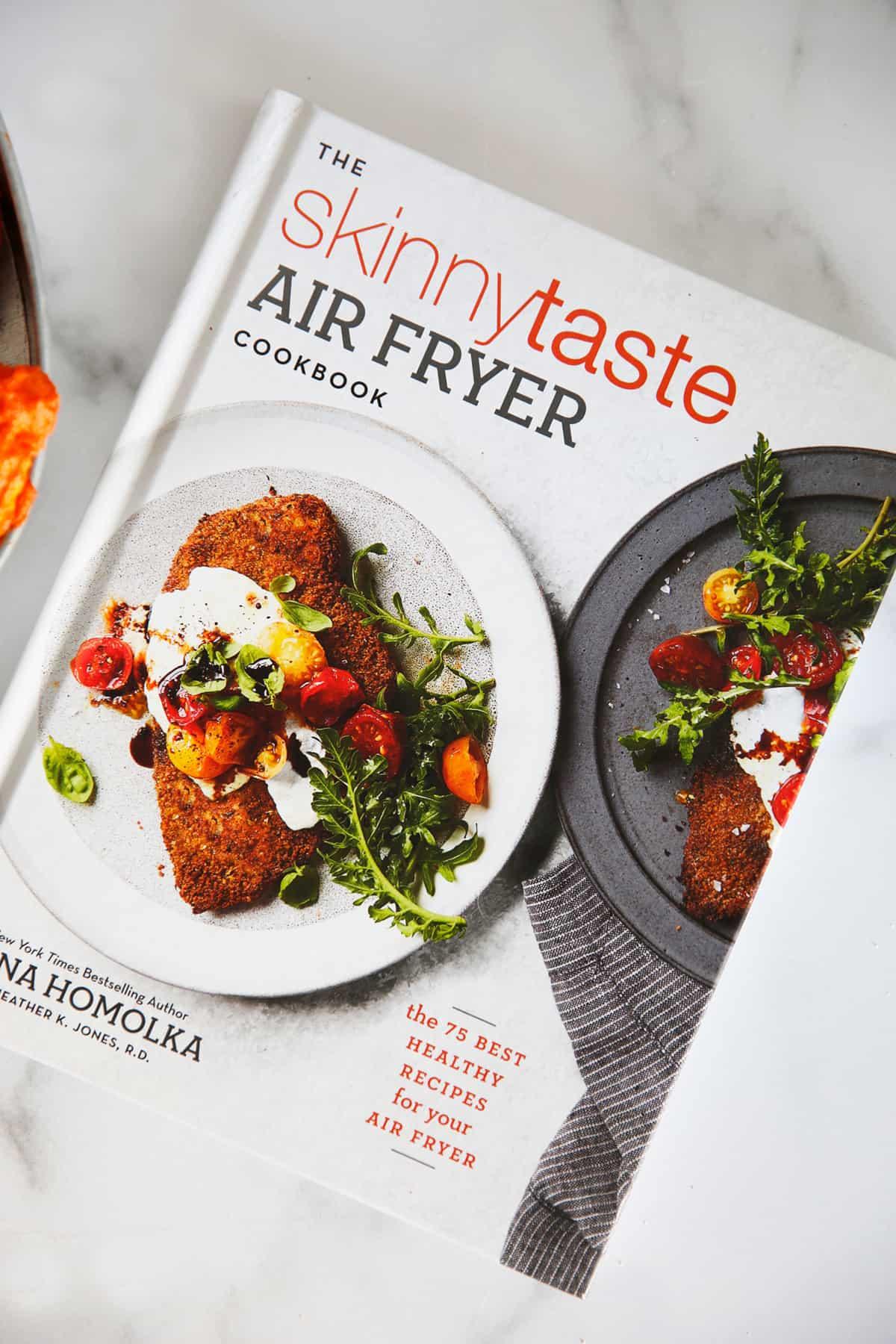 photo of skinny taste air fryer book