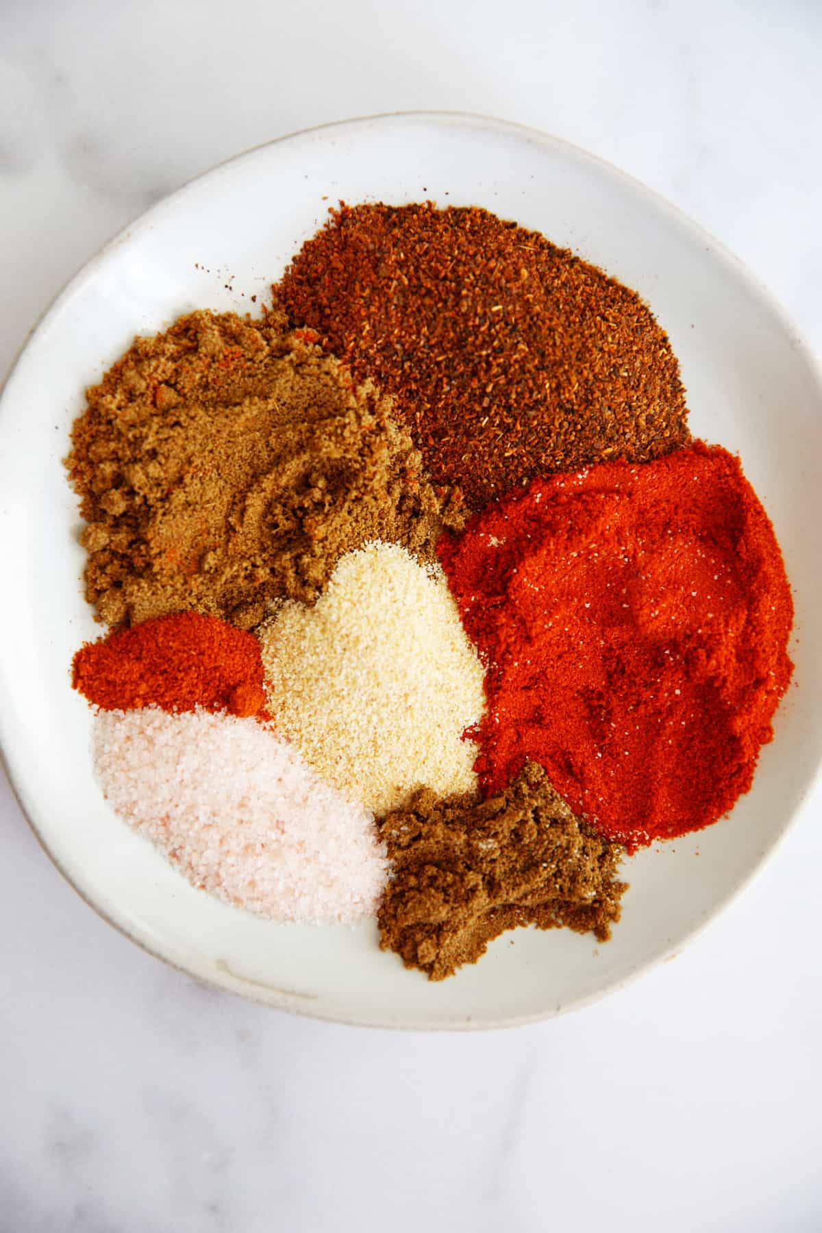 ingredients for how to make taco seasoning mix