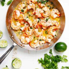 20-Minute Tequila Lime Shrimp