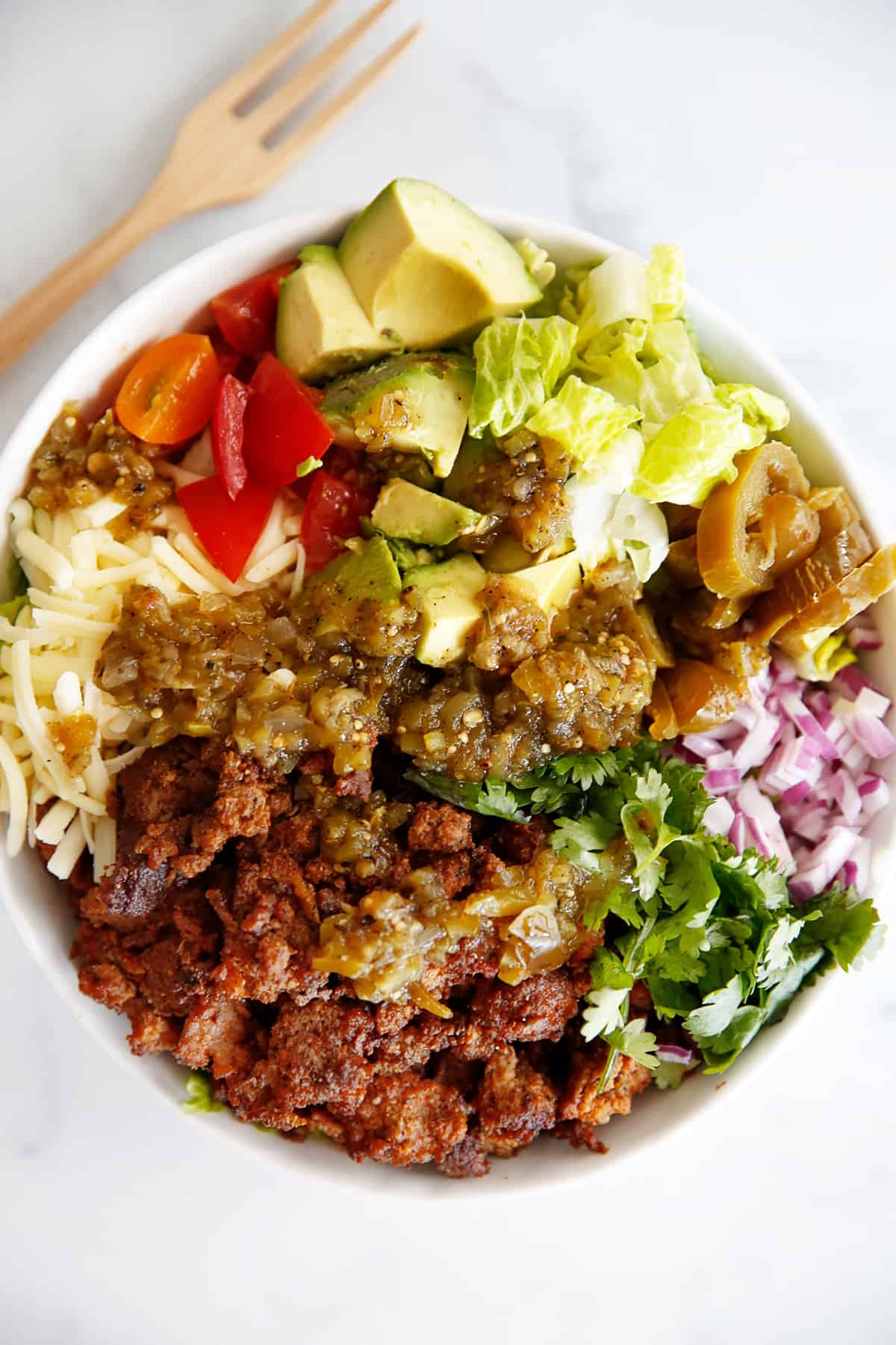 Easy Simple Taco Salad