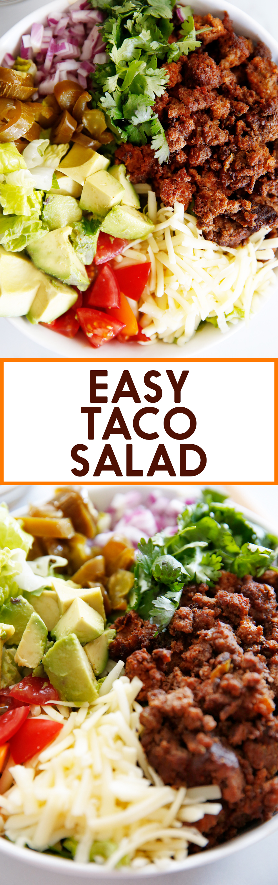 Simple Weeknight Healthy Taco Salad Lexi S Clean Kitchen
