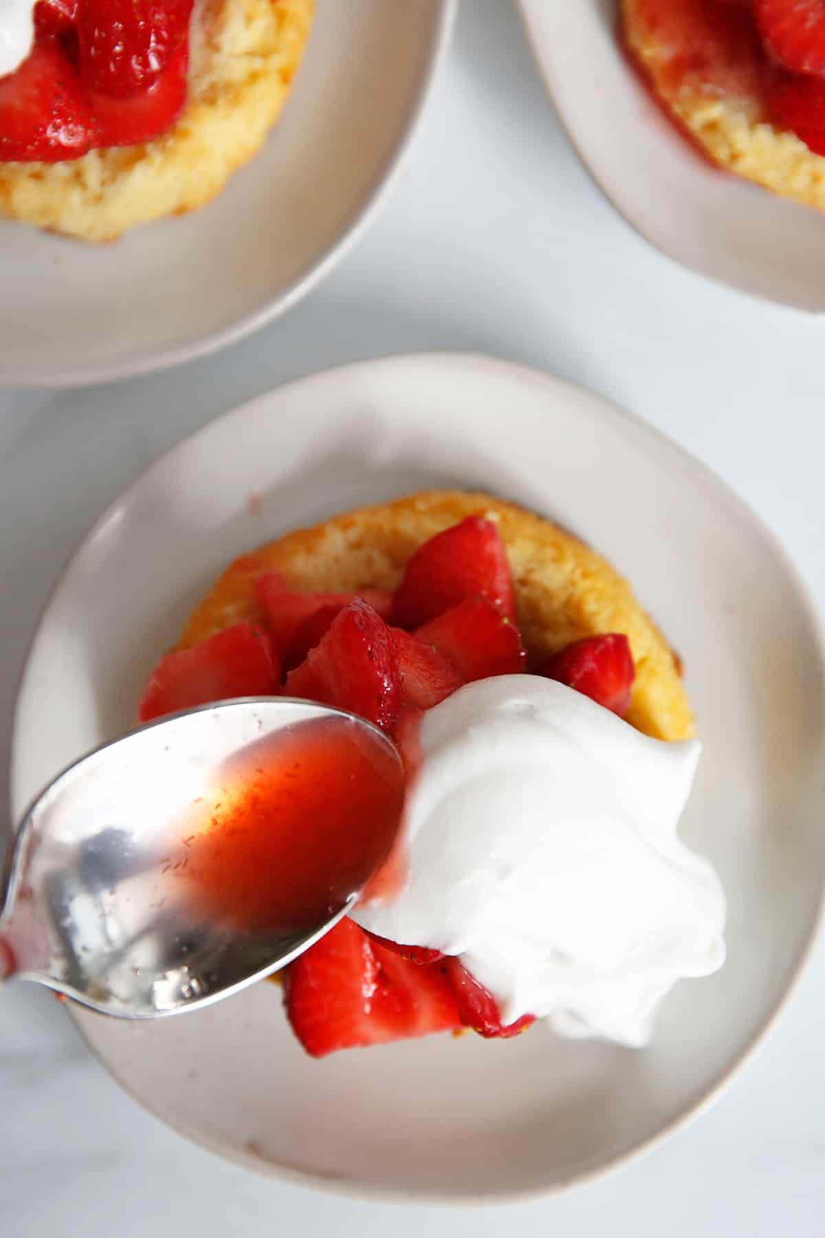 almond flour strawberry shortcake recipe
