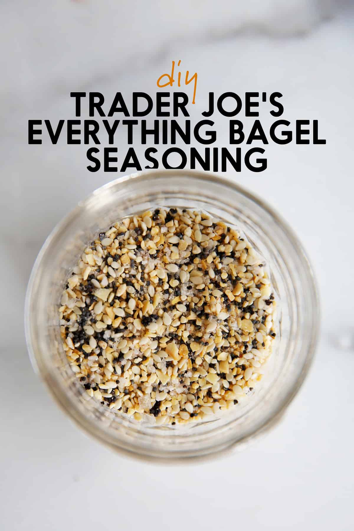 Trader Joe's Everything but the bagel seasoning copycat
