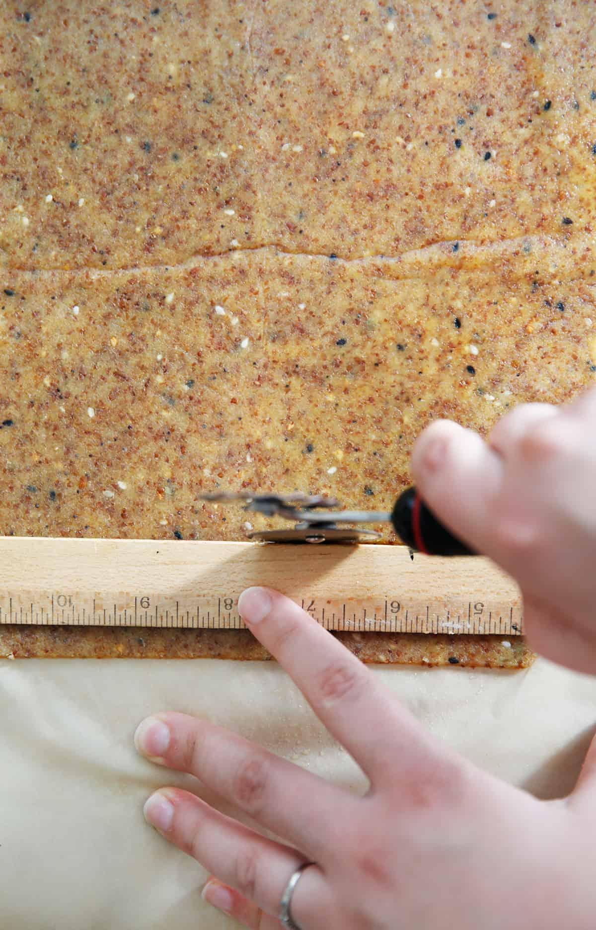 cutting almond cracker recipe