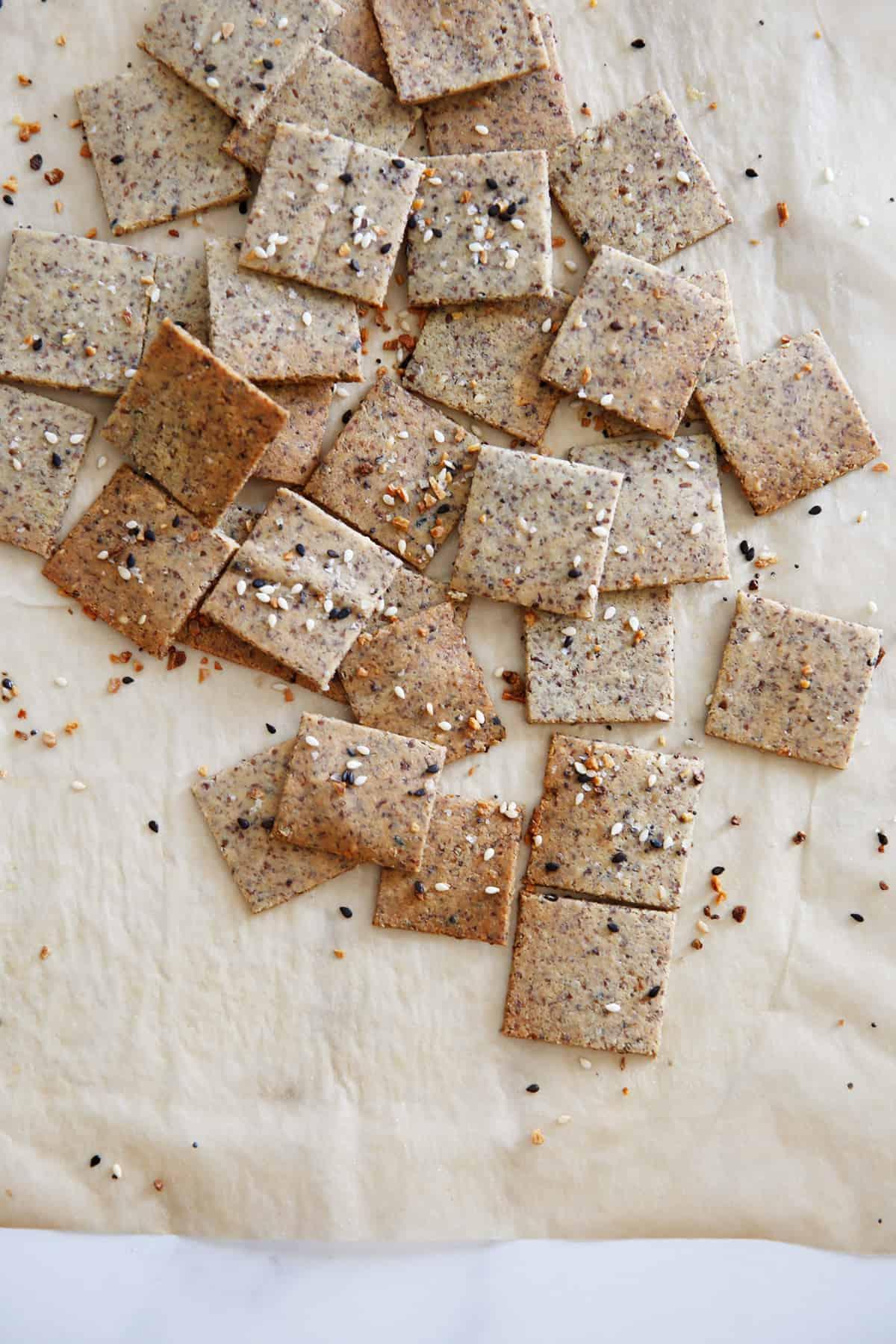 Result of easy gluten free cracker recipe