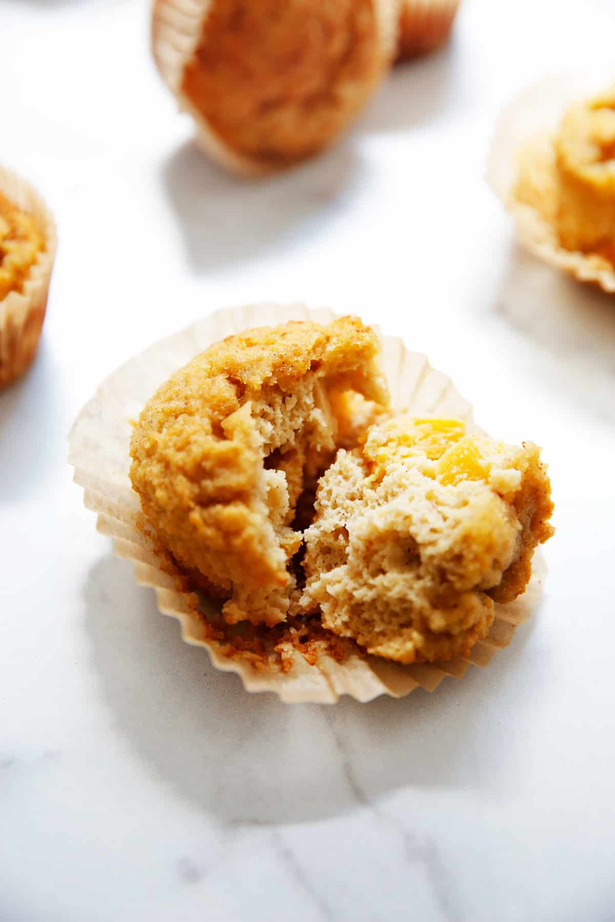 Healthy Peach Muffins Paleo And Gluten Free Lexi S Clean Kitchen