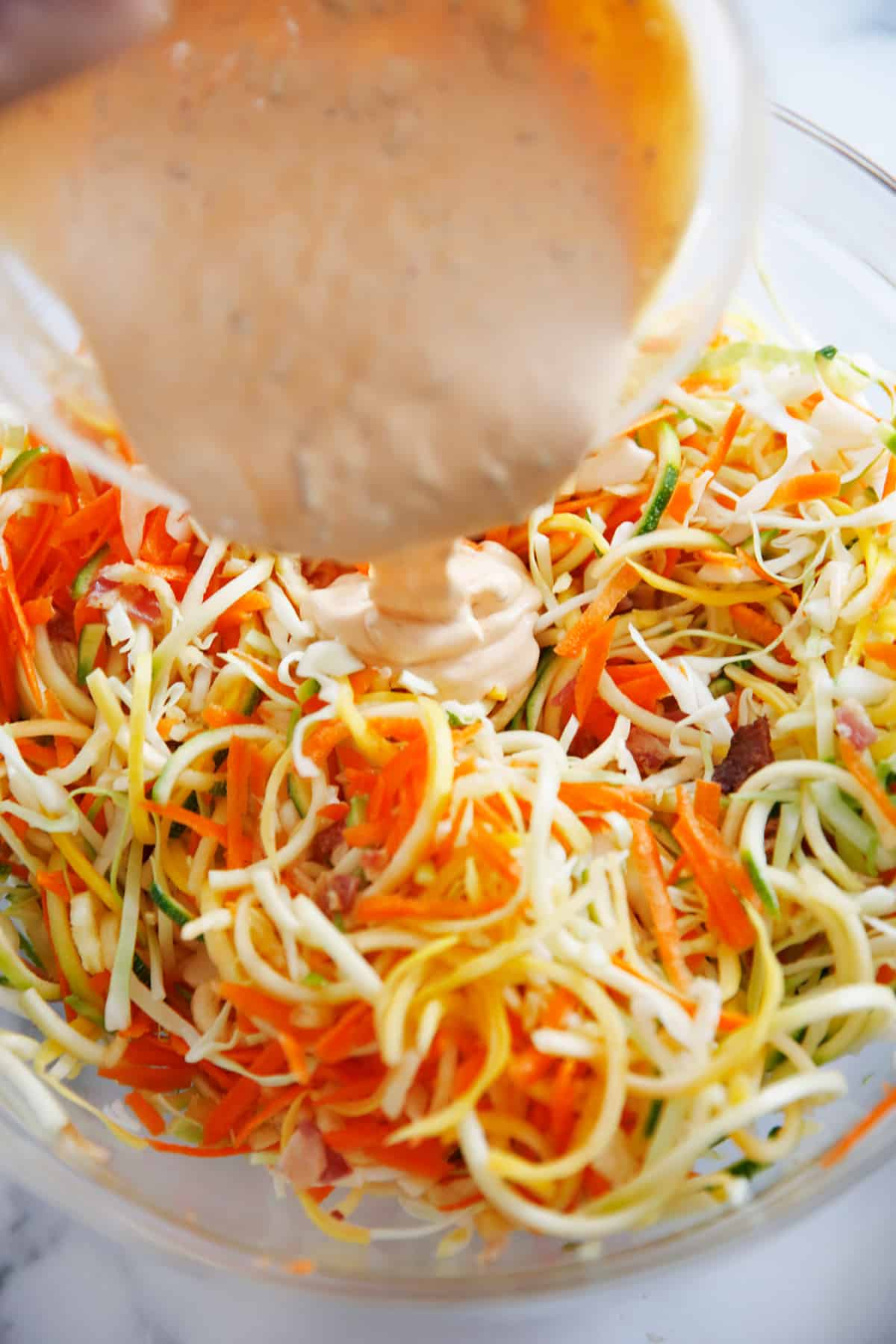 Spiralized Chipotle Slaw