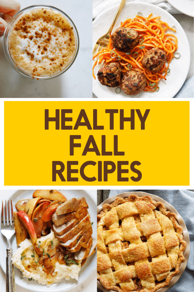 Recipe ideas to cook in the fall.