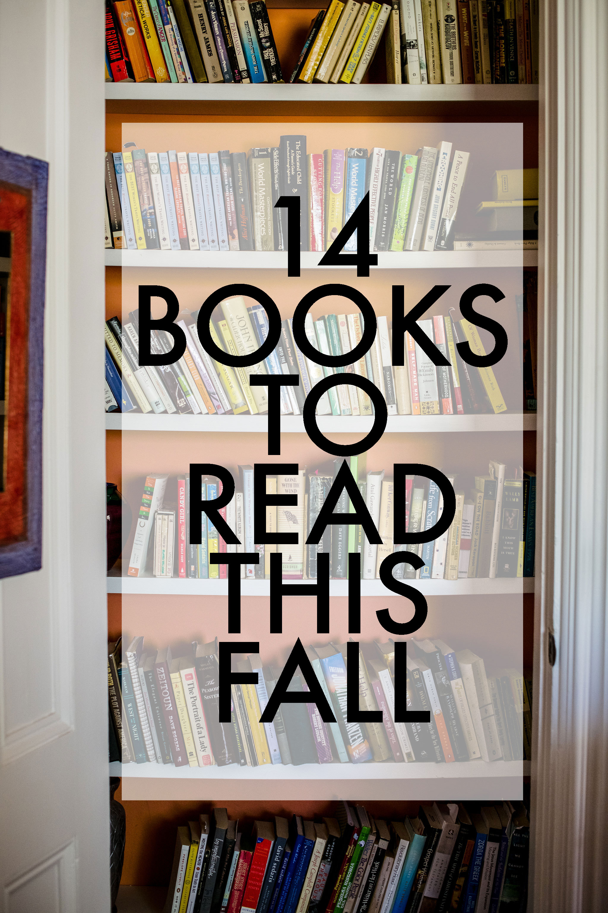 14 Books to Read this Fall