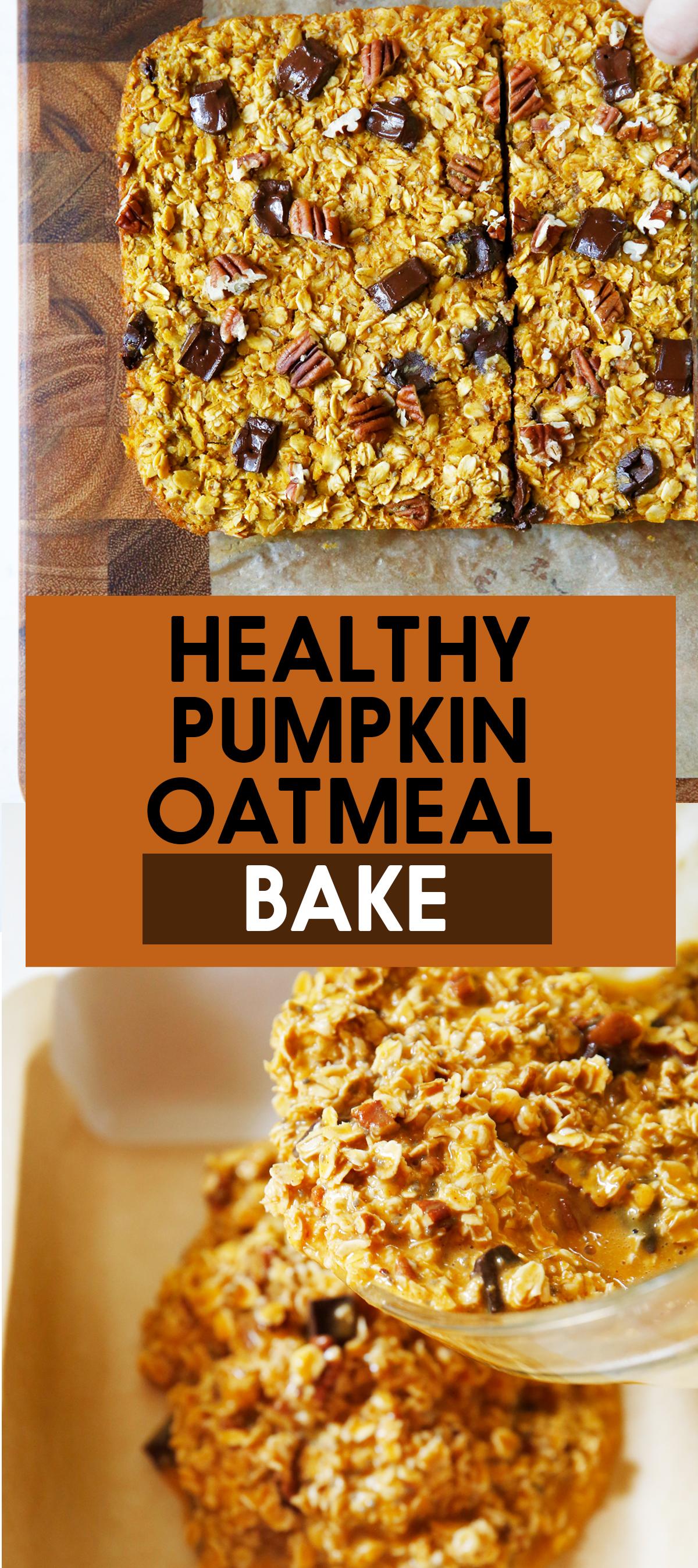 Lexi S Clean Kitchen Pumpkin Oatmeal Bake