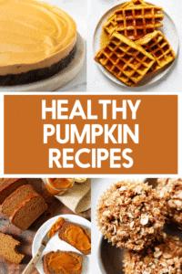 Healthy Pumpkin Recipe