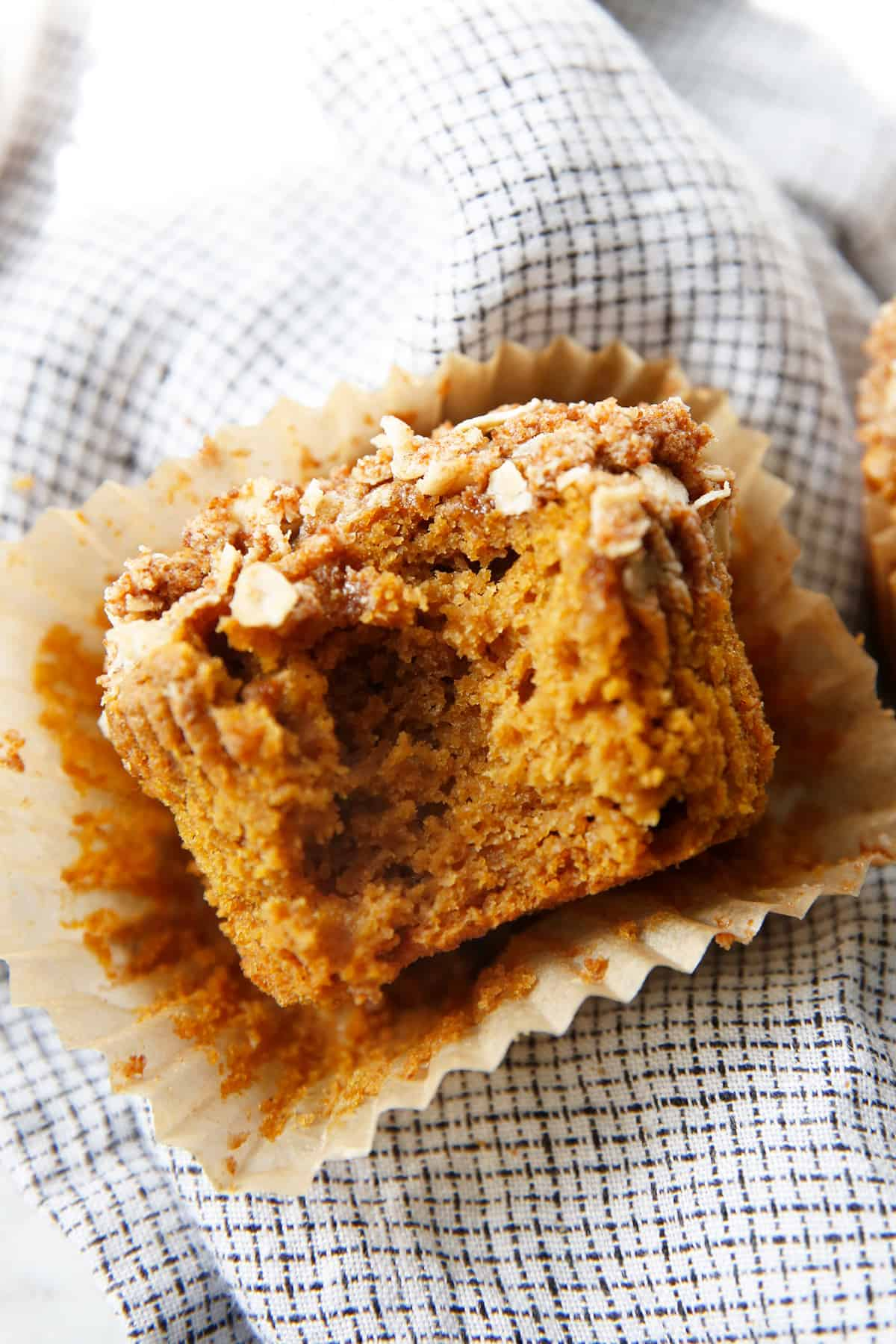Muffins made from oat flour.