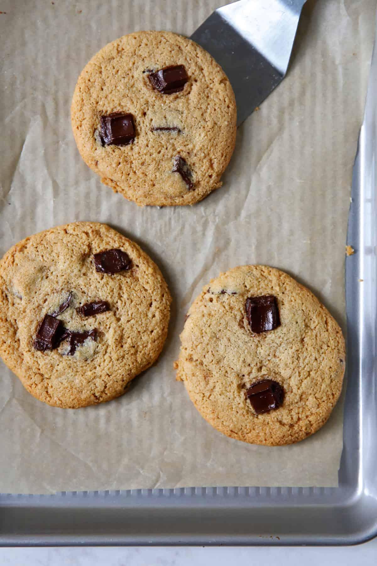 Easy gluten free chocolate chip cookie recipe