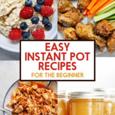Easy Instant Pot Recipes