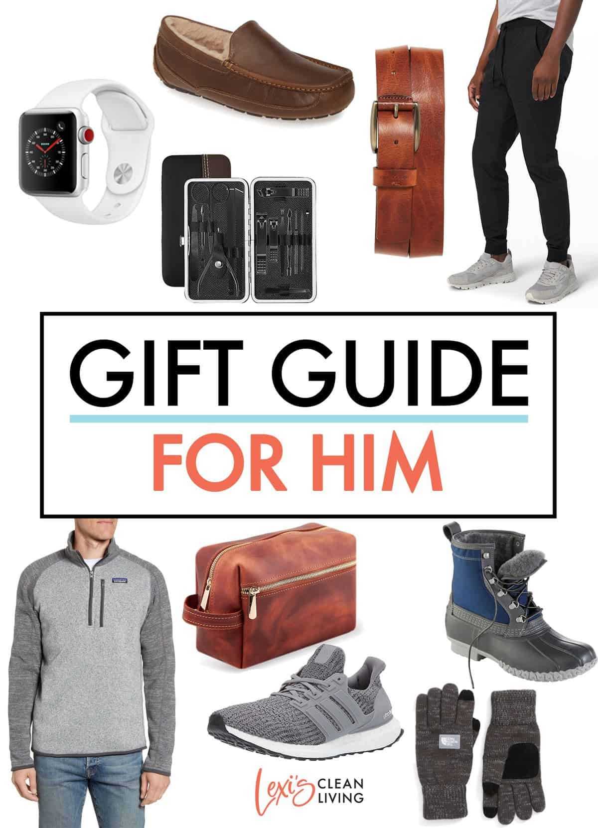 2020 Holiday Gift Guide for Him