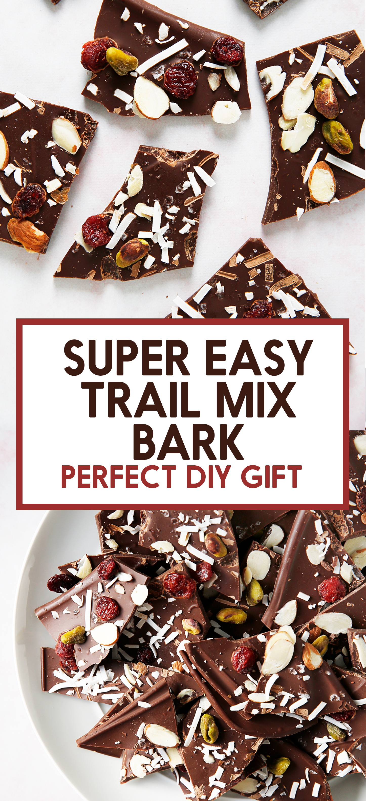 Lexi S Clean Kitchen Sea Salt Trail Mix Chocolate Bark