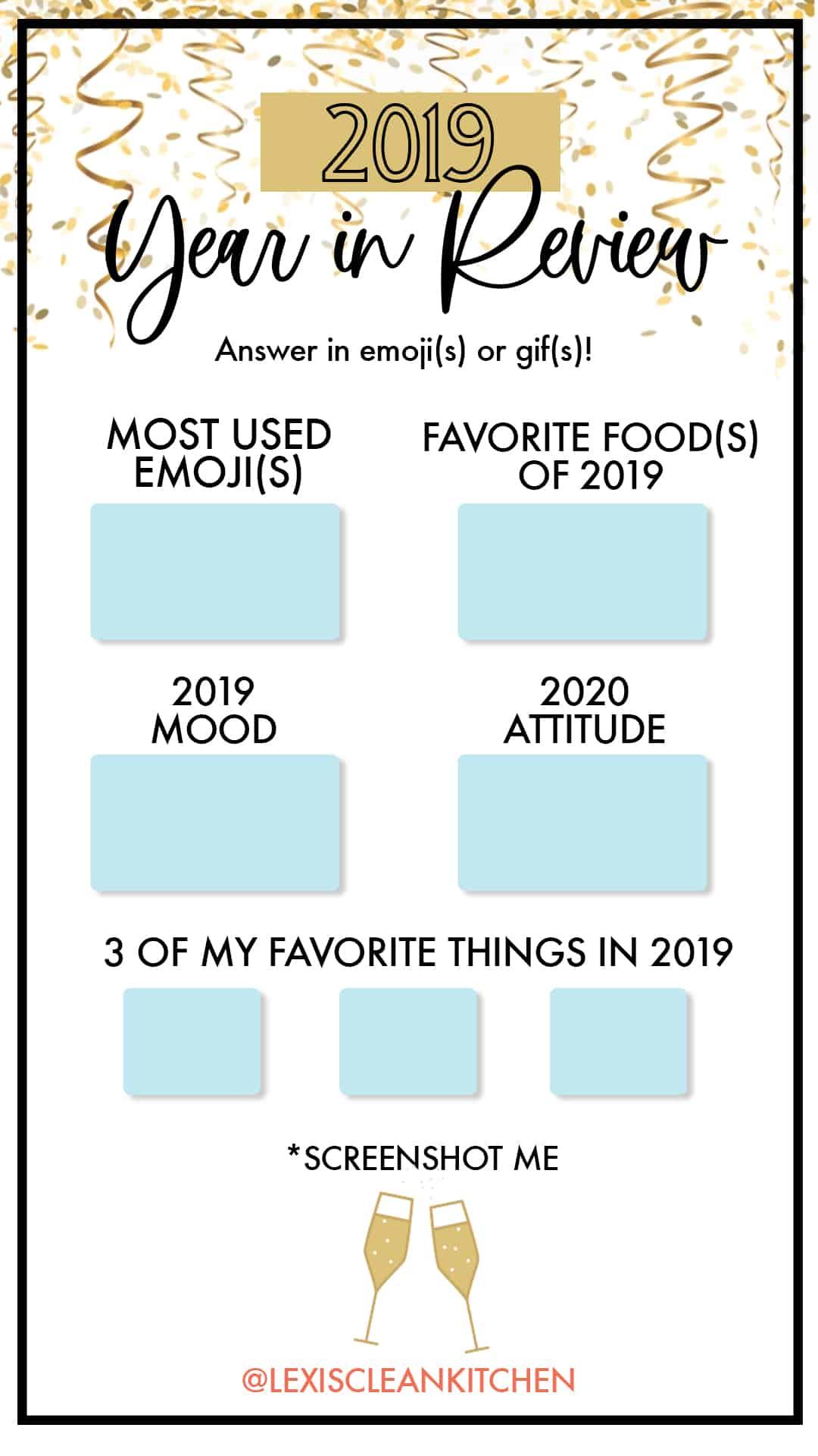 2019 in Emojis