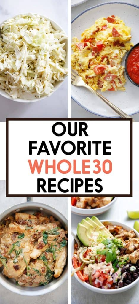 Our Favorite Whole30 Recipes
