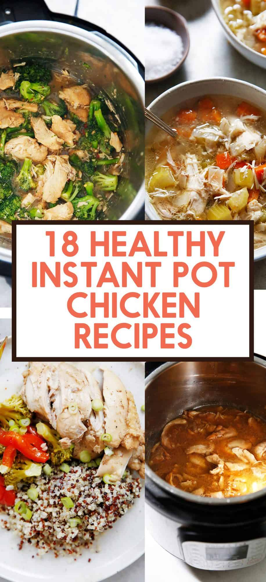 18 Healthy Instant Pot Chicken Recipes