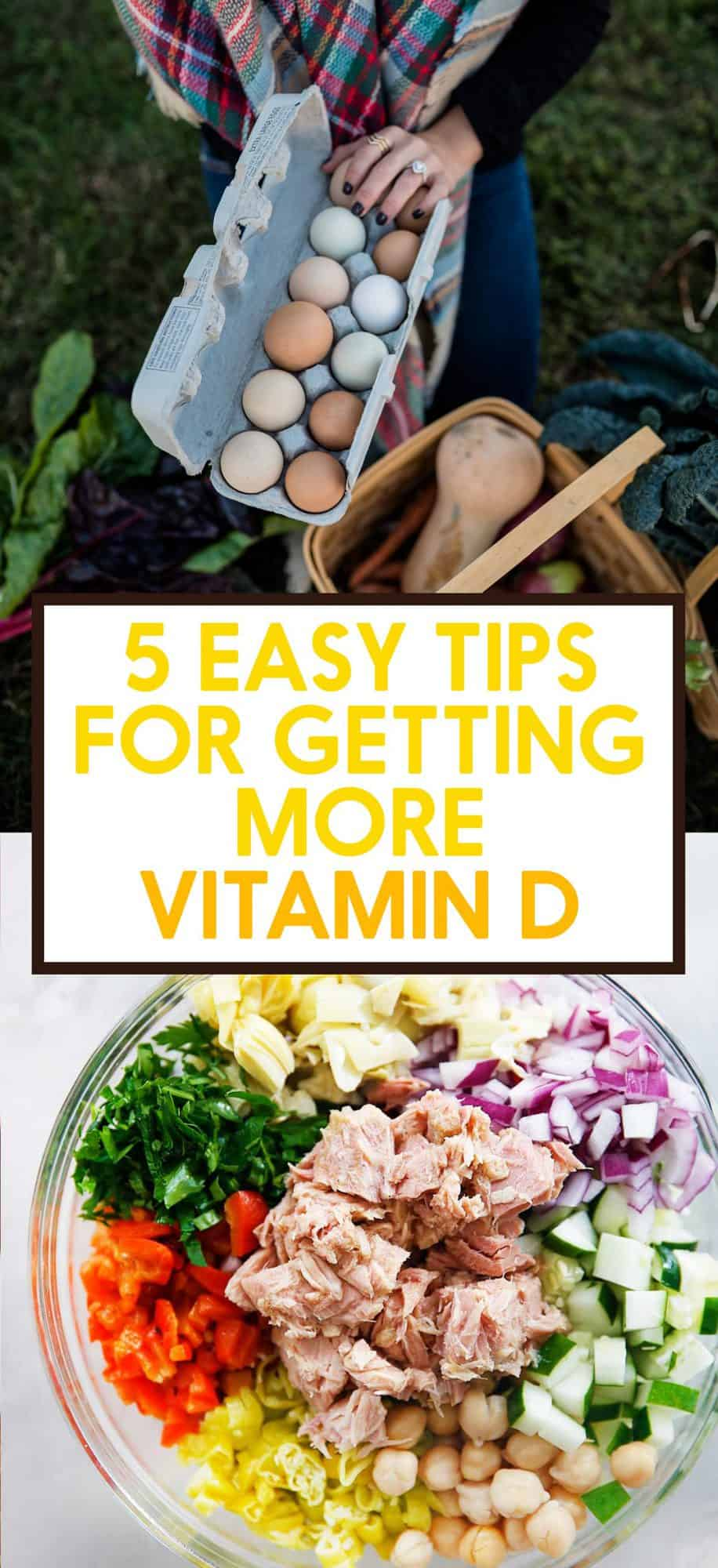 5 Easy Tips for Getting More Vitamin D