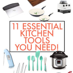 The 11 Kitchen Essentials We Actually Use Daily