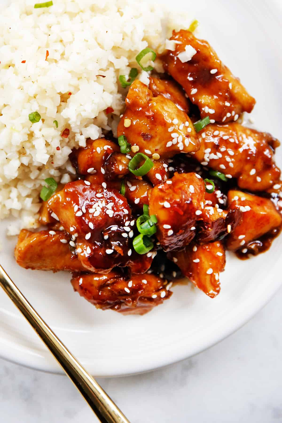 Healthy General Tso's Chicken