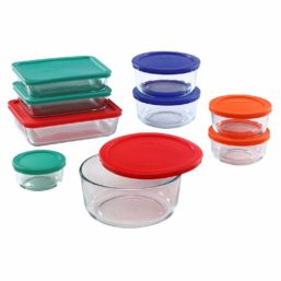 Glass Storage Containers: Various Sizes
