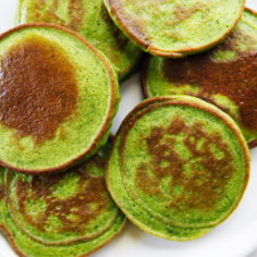 Kid-Friendly Spinach Pancakes