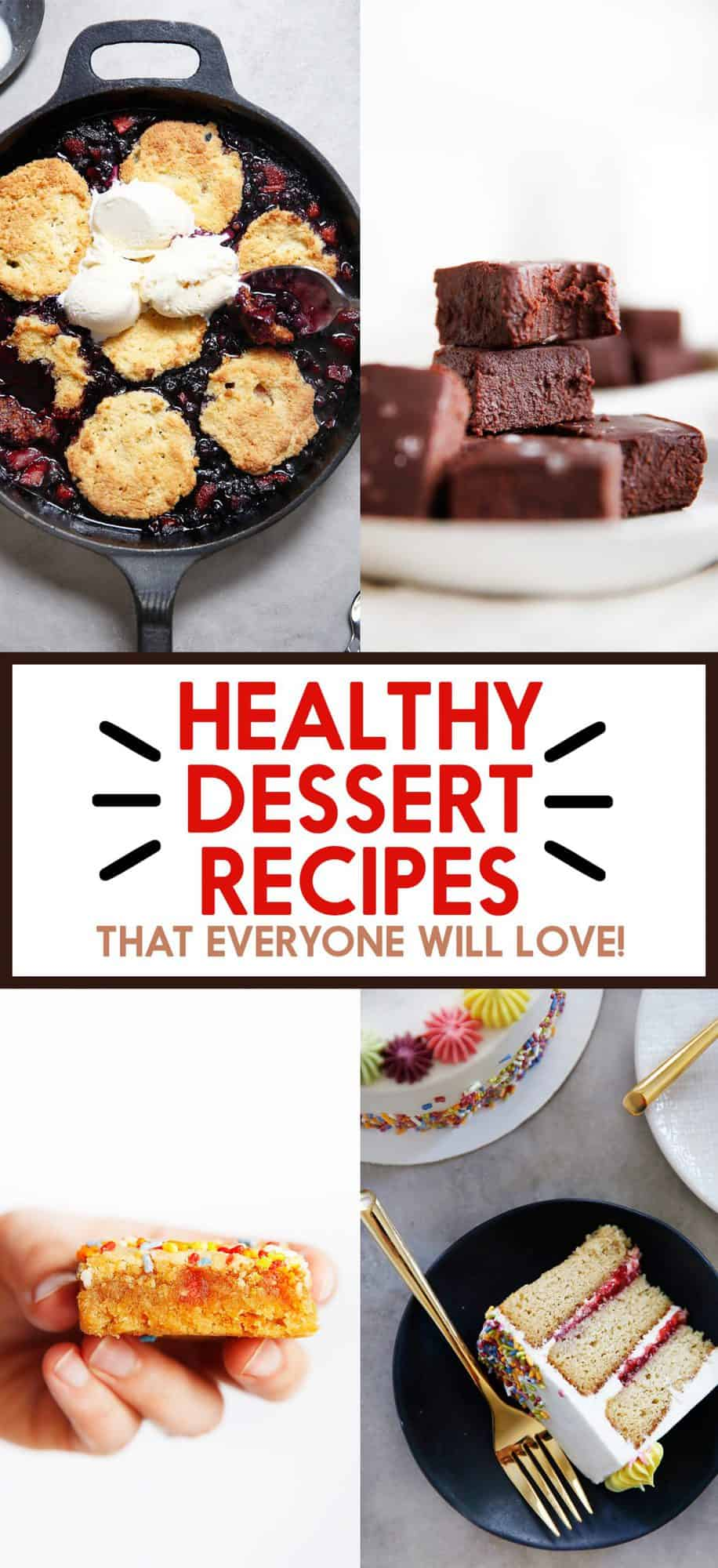 Healthy Dessert Recipes