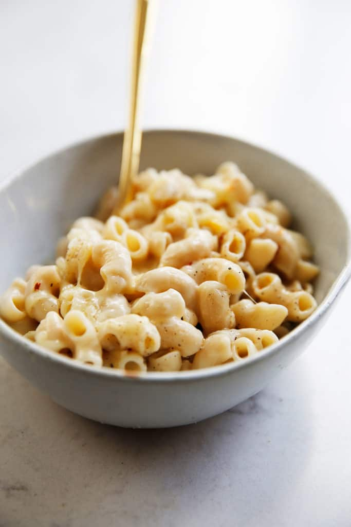 Instant pot Mac and cheese.