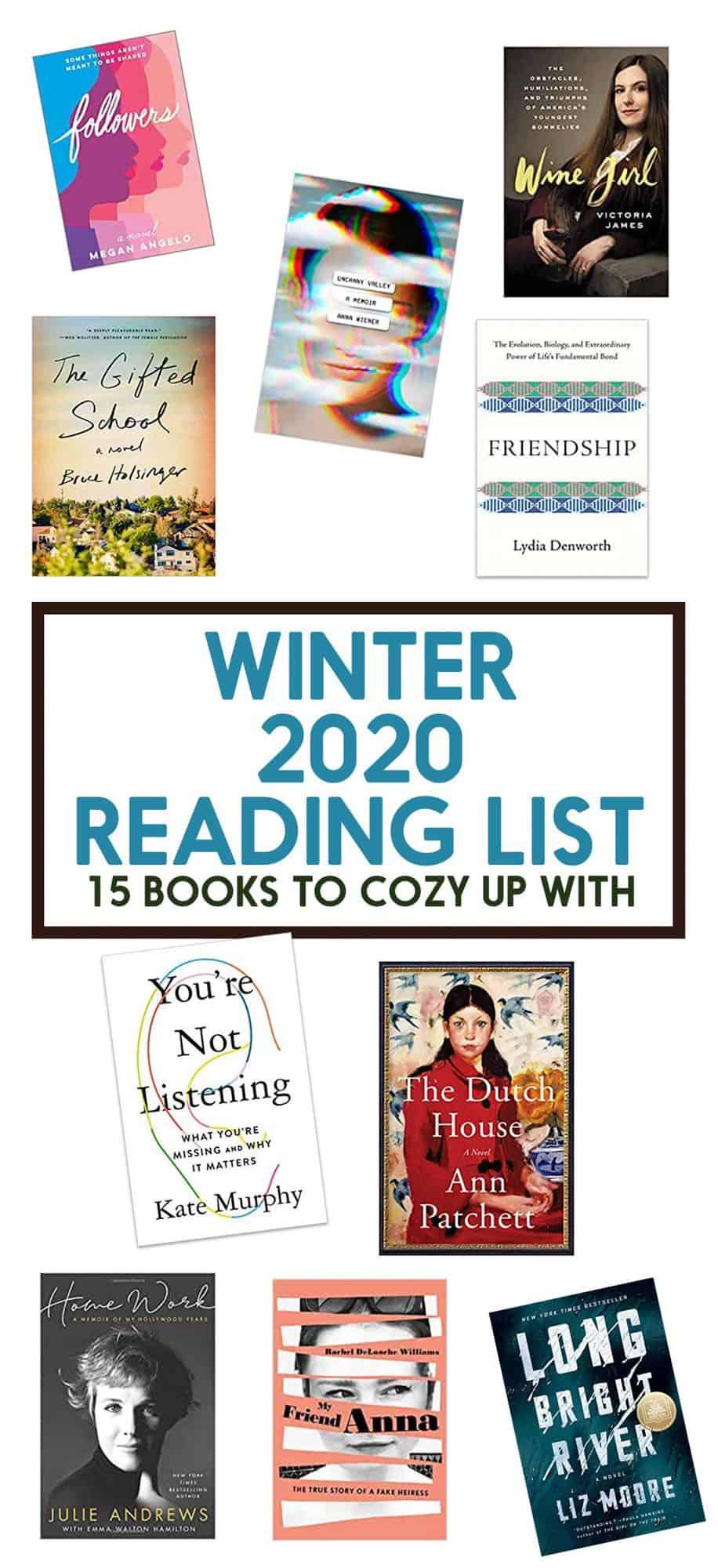 2020 Winter Book List